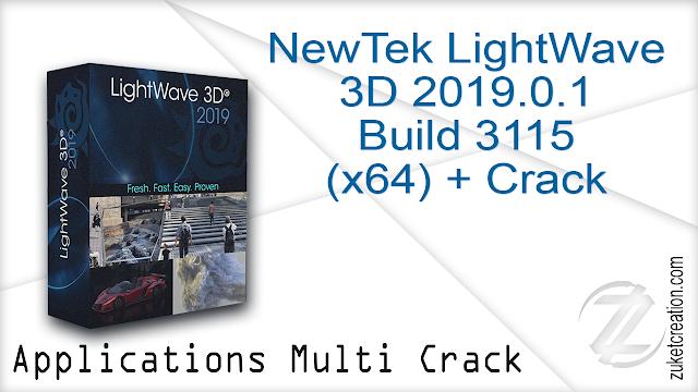 NewTek LightWave 3D 2019.0.1 Build 3115 (x64) + Crack