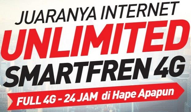Daftar Harga Paket Internet SmartFren 3G/4G Murah Terbaru April 2019