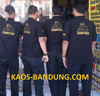 Pusat Konveksi Buat Kaos Baju Pakaian adat sunda Purwakarta Sampurasun