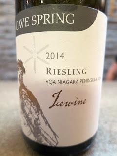 Cave Spring Riesling Icewine 2014 - VQA Niagara Peninsula, Ontario, Canada (91 pts)