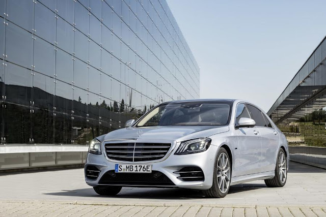 Mercedes-Benz S 560 e plug-in hybrid now has up to 50 km of electric range