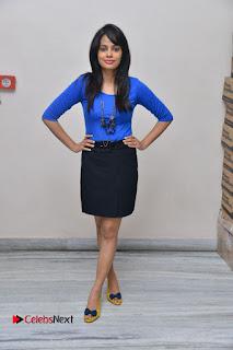 Actress Nandita Swetha Stills in Black Mini Skirt at Ekkadiki Potavu Chinnavada Movie Special Show  0061.JPG