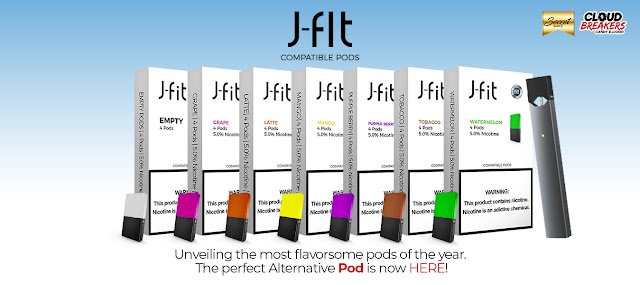 J fit Pods | Vape E liquids Wholesale supplier