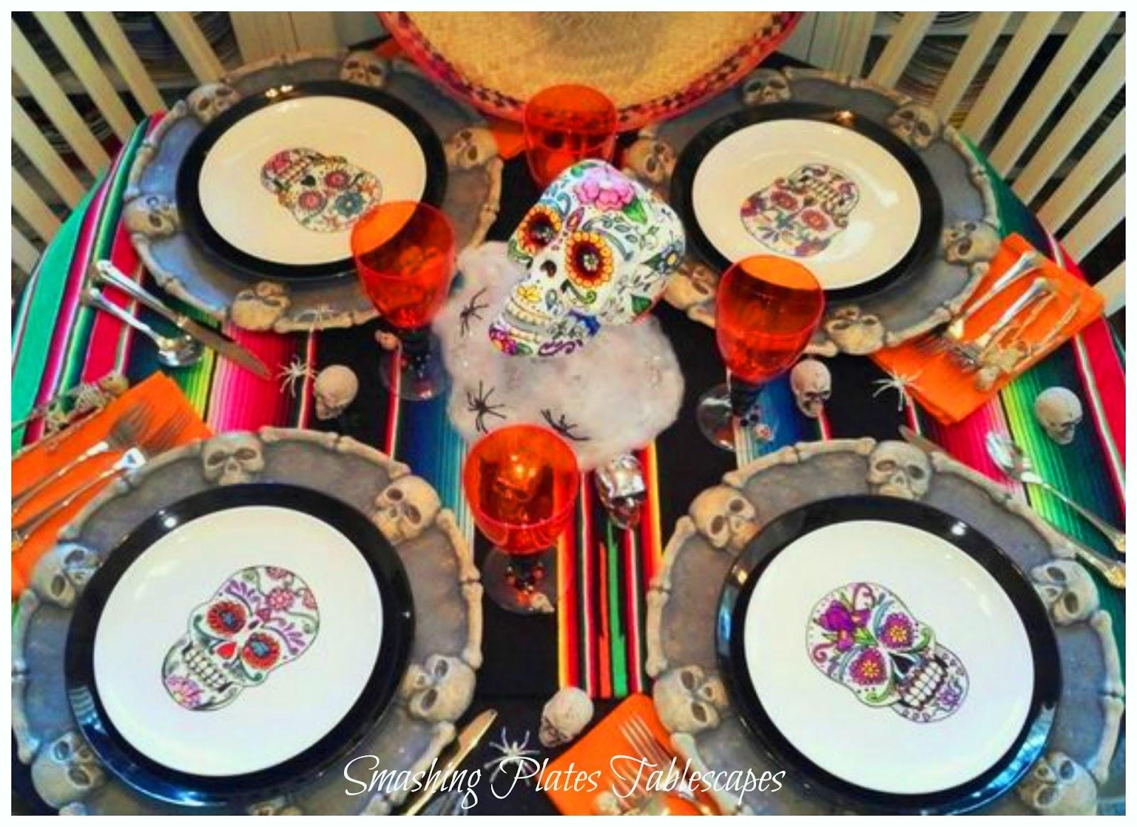 Smashing Plates Tablescapes Halloween Amp Dia De Los
