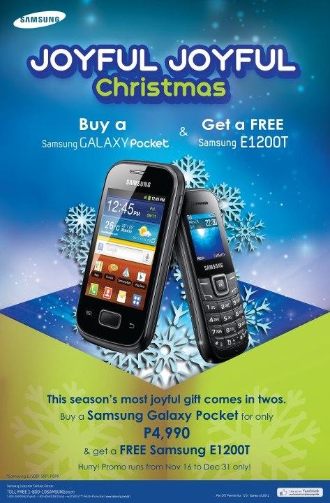 Manila Shopper Samsung Joyful Joyful Christmas Promo 2012