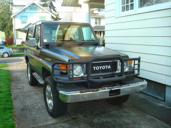 1988 Toyota Land Cruiser BJ73 For Sale
