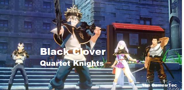 Black Clover Quartet Knights PC Game Download