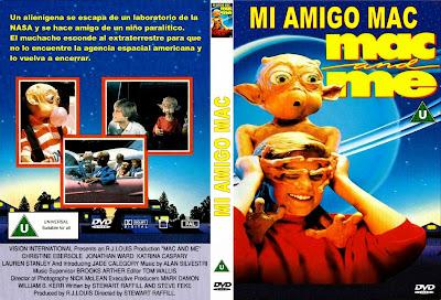 Mi amigo Mac ( 1988 ) | Carátula | Dvd | Cover