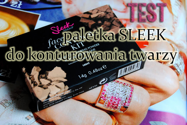 Sleek Make Up, Face Contour Kit ( Paletka do modelowania twarzy) -recenzja