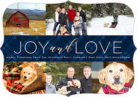Holiday Greeting card from Photo Affections