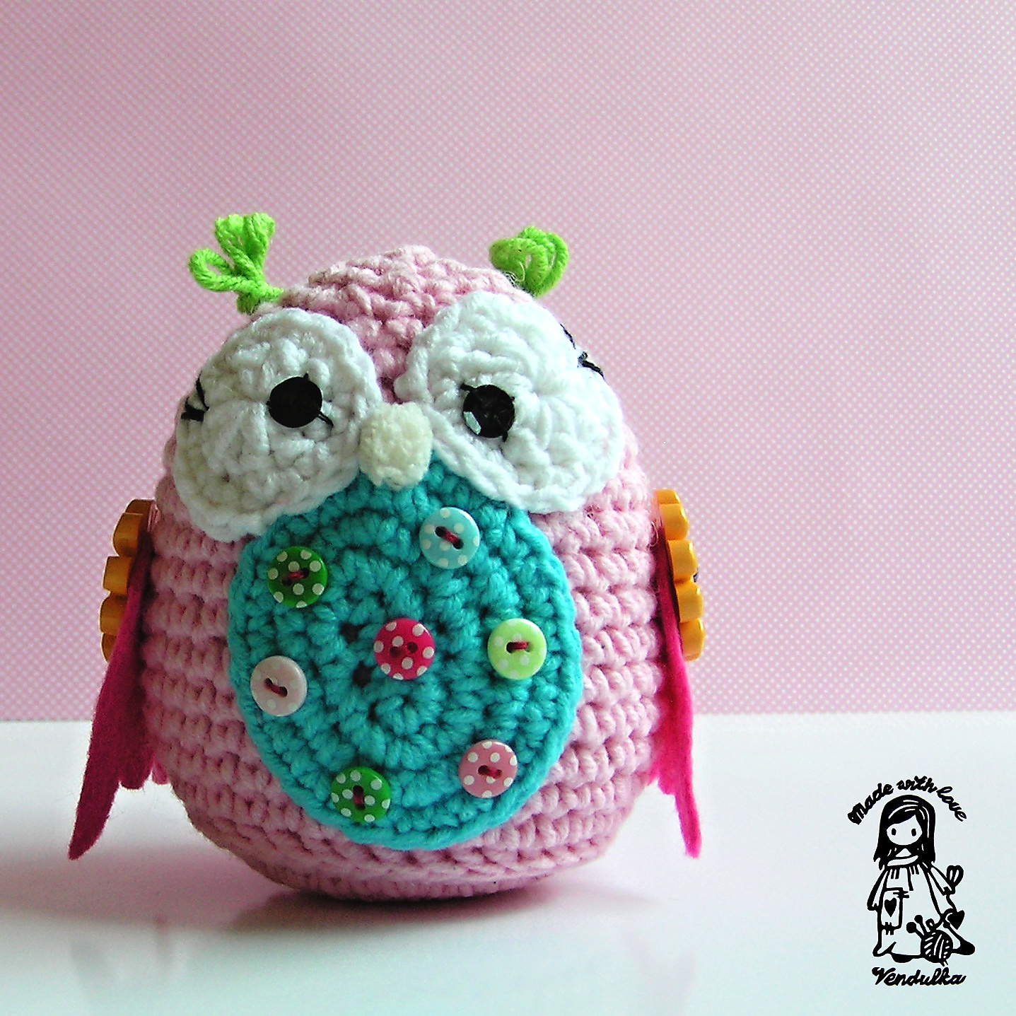 My Owls Obsession Magic With Hook And Needles