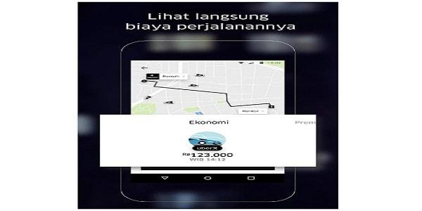 Cara Pesan Uber Taxi Dari HP Smartphone Anda