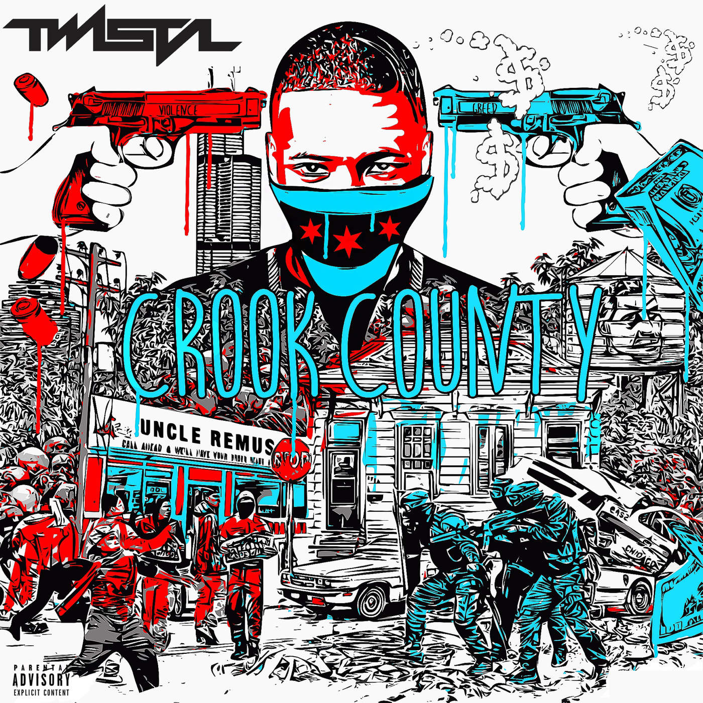 Twista - Crook County Cover
