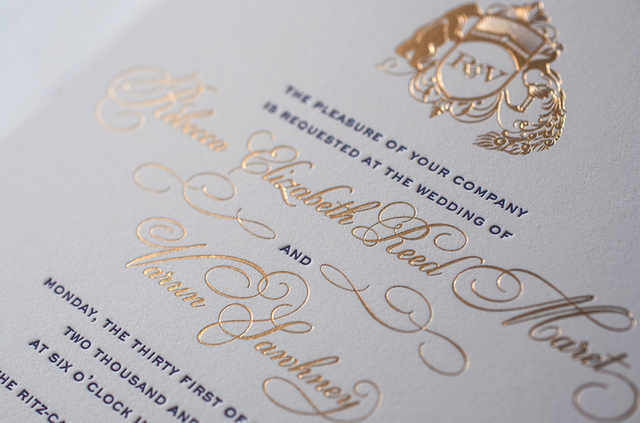 Best Letterpress Wedding Invitations: Top Dozens Of Letterpress Wedding Invitation Designs