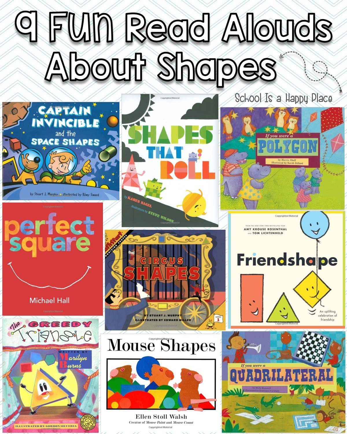 School Is A Happy Place You Better Shape Up Activities For 2d And 3d Shapes Including A Free