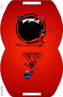 Miraculous Ladybug Free Printable Pillow Box.