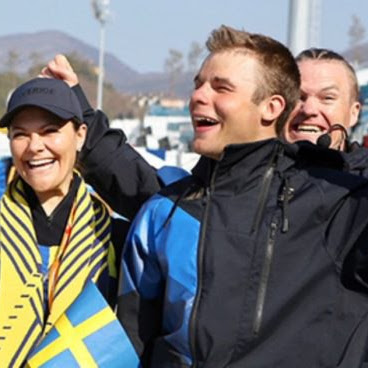 Księżniczka Victoria na Igrzyskach Paraolimpijskich