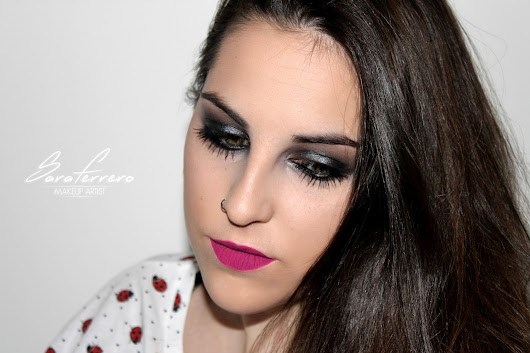 Look Smoky Black Glitter - Inma