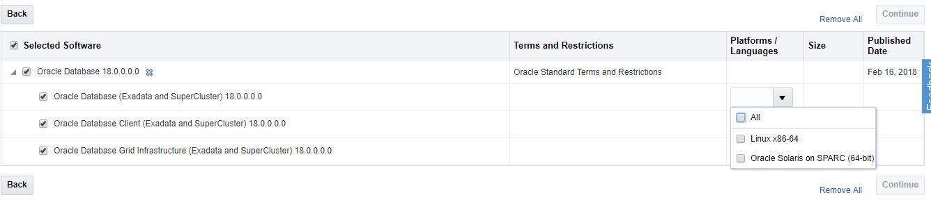 Oracle 18c On Premise - LAMIMDBA