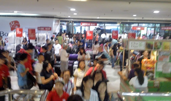 Shopping: SM City Sta. Mesa 3-day Sale