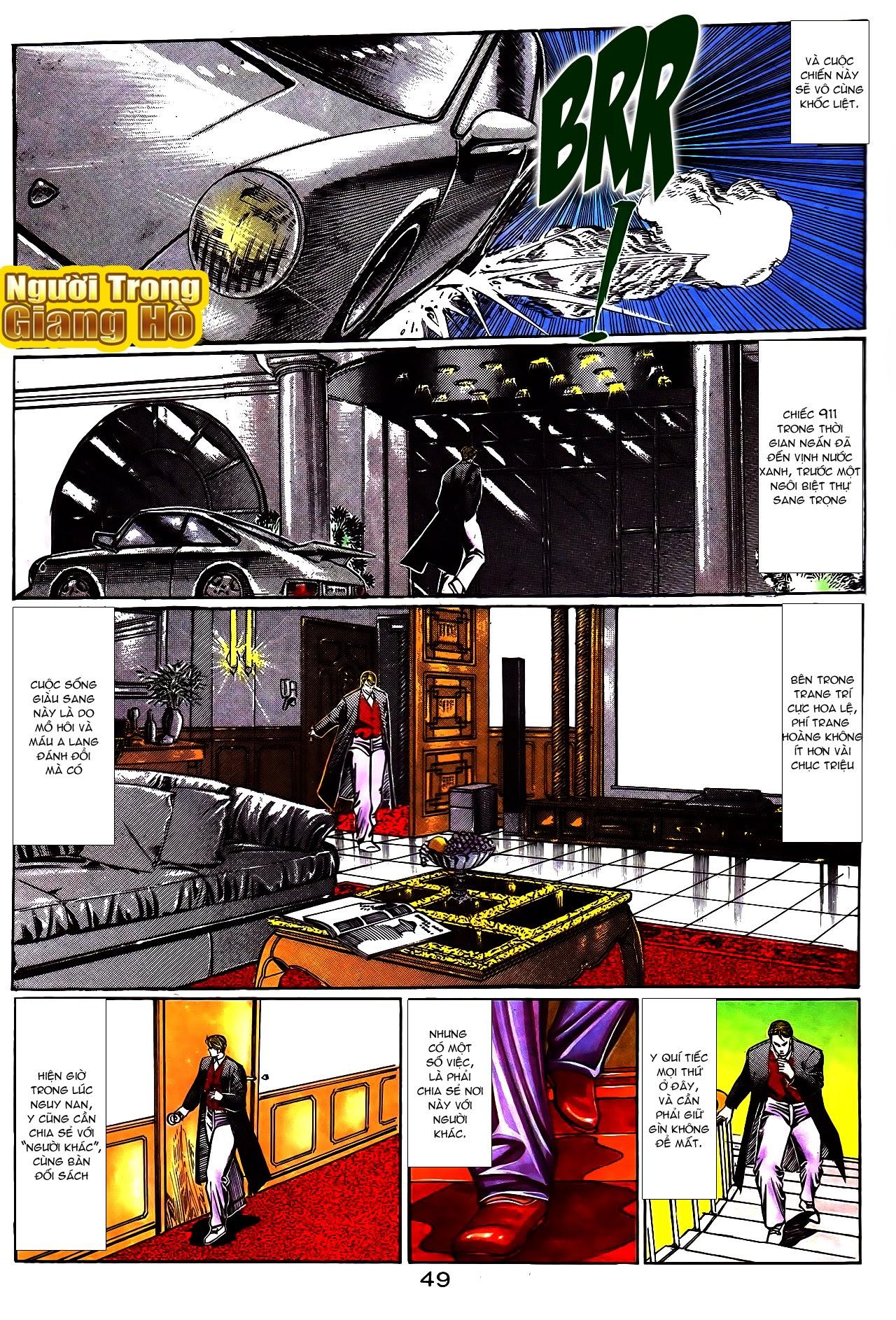Người Trong Giang Hồ chapter 108: phong vũ cố nhân lai trang 24