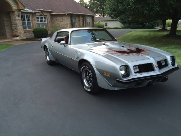 1975 Pontiac Trans Am Original Low Miles