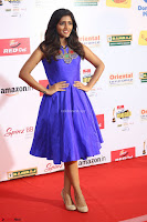 Eesha in Cute Blue Sleevelss Short Frock at Mirchi Music Awards South 2017 ~  Exclusive Celebrities Galleries 063.JPG