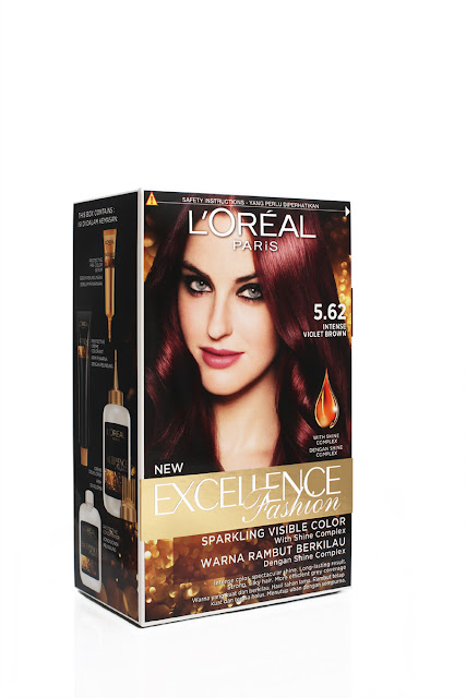 L'Oréal Paris, Dian Sastrowardoyo, hair color, cat rambut