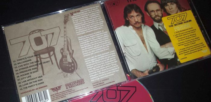 707 - The Second Album [Rock Candy remastered / 2nd press] (2017) disc