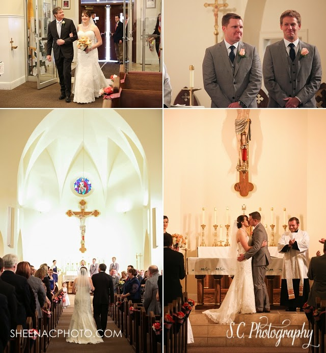 Saint Joseph Catholic Church Michigan Wedding