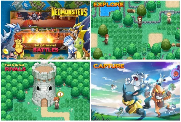 Neo Monsters MOD APK Android Offline