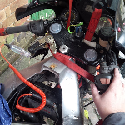 Aprilia RS 125 motorcycle motorbike starter motor circuit testing ( will not turn over , no crank issue )