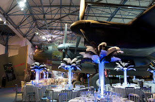 Royal Air Force Museum London - party set up