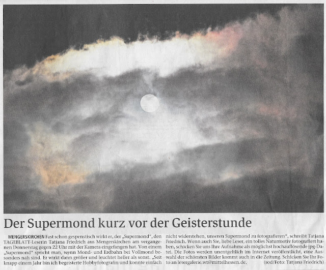 Supermond-Vollmond-Bluemoon 2017 in Mengerskirchen-Tageblatt Weilburg