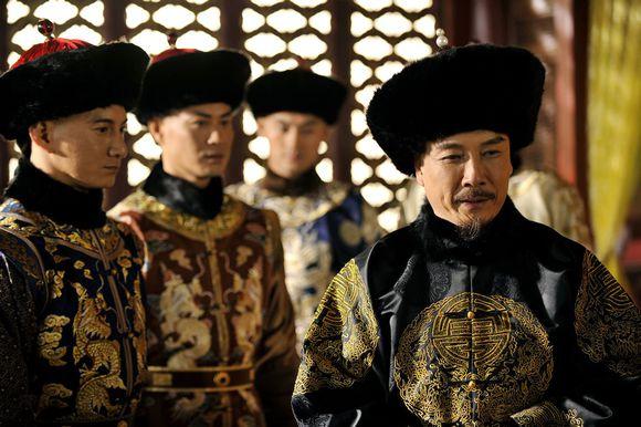 Liu Song Ren as Emperor Kangxi in c-drama Scarlet Heart aka Bu Bu Jing Xin