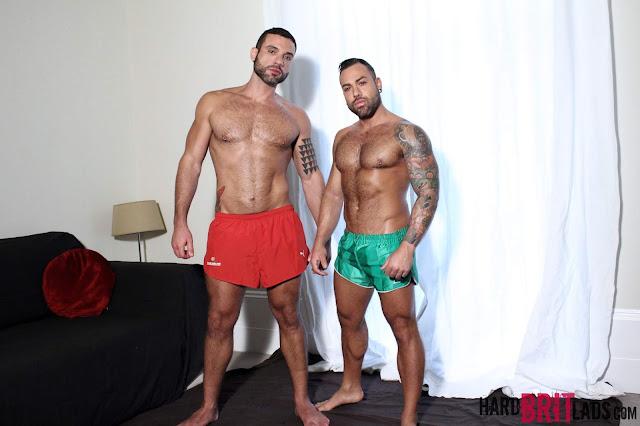 Hard Brit Lads - Letterio Amadeo and Sergi Rodriguez