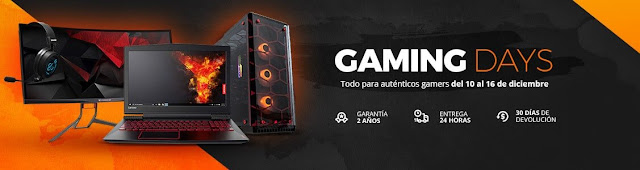 Top 25 ofertas de los Gaming Days de PcComponentes