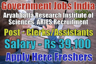 ARIES Recruitment 2018