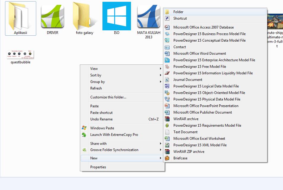 Cara Mudah Memberi Password Folder Tanpa Software