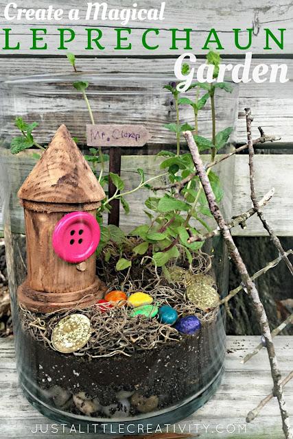 Create a garden terrarium