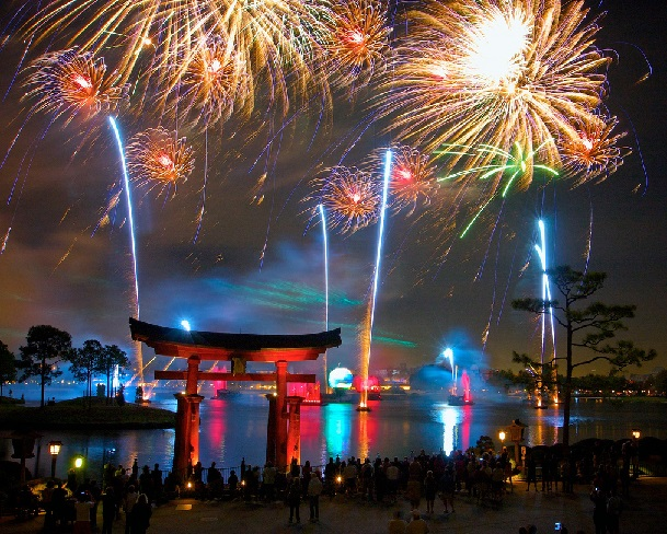 Show Illuminations: Reflections of Earth no Epcot em Orlando