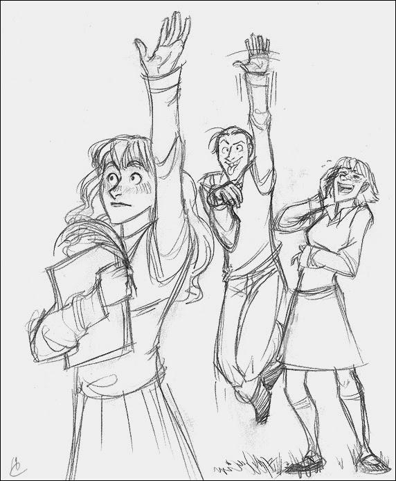 Les Trouvailles d'Élo: [Fan-art] Harry Potter en humour
