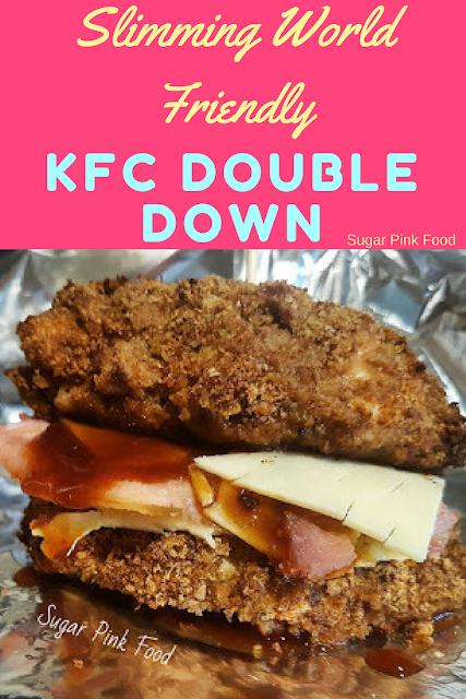 kfc double down recipe slimming world