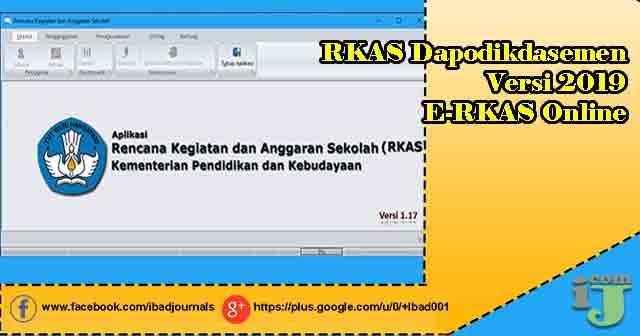 RKAS Dapodikdasemen Versi 2019 E-RKAS Online