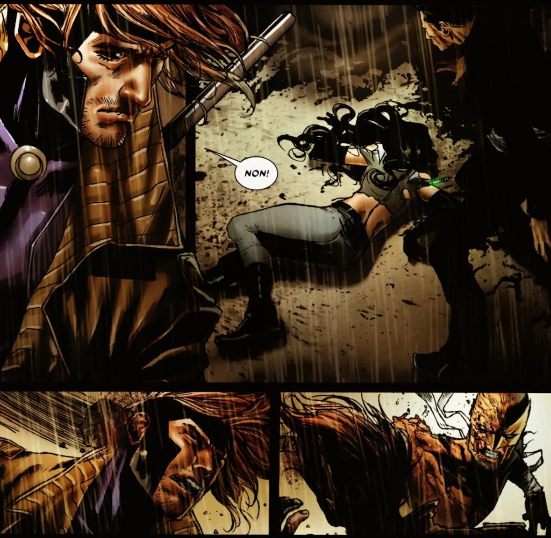 Daken Vs Gambit ...X 23 Gambit