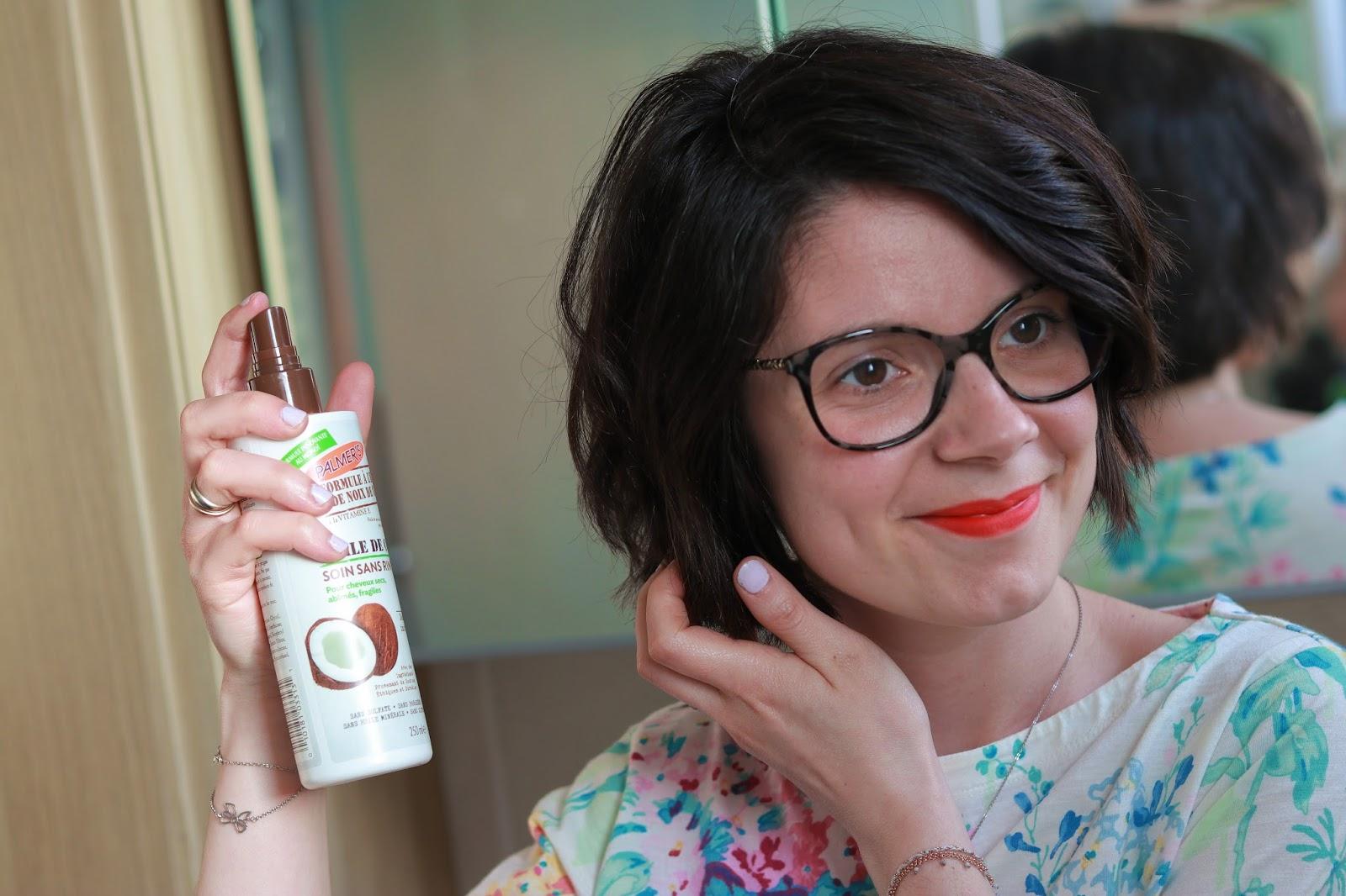 palmers palmer's huile de noix de coco gamme beaute sans parabene avis positif victoires de la beauté les gommettes de melo shampoing lait