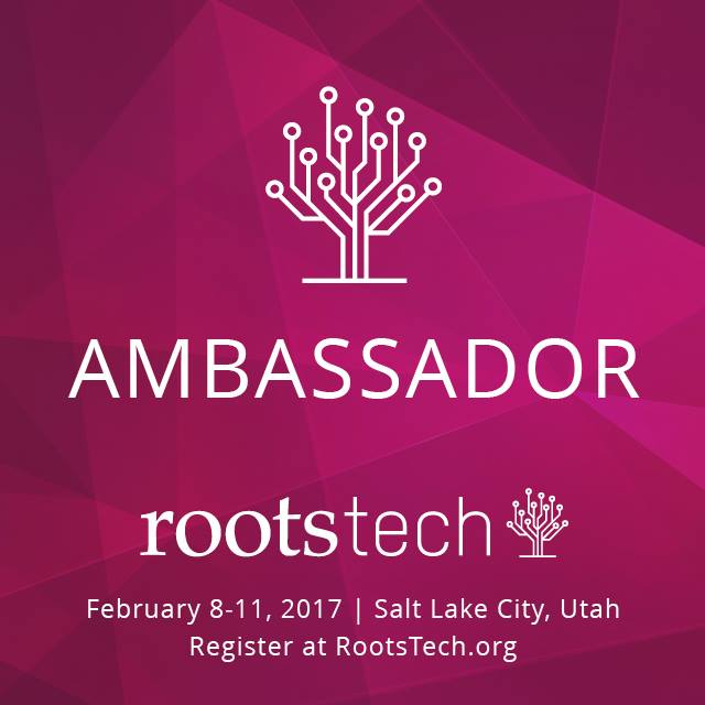 RootsTech - February 8-11, 2017