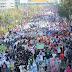 Ribuan Santri Ikut Pawai, KH Aiz Muhajirin: Hizbut Tahrir Tidak Ada!