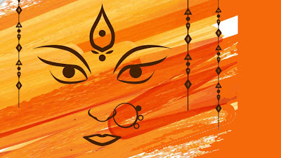 Happy Navratri HD Wallpaper