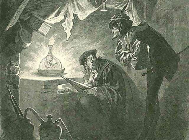 Χομούνκουλους : Τα Μαγικά πλάσματα των Αλχημιστών